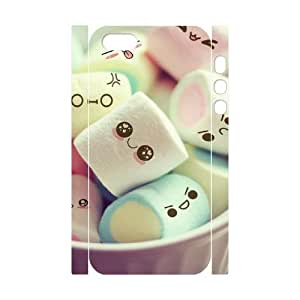 JCCFAN Cartoon Smile Face Phone 3D Case For iPhone 5,5S [Pattern-4]