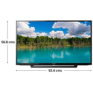 Sony Bravia 101.6 cm (40 inches) Full HD LED TV KLV-40R352F (Black) | With Amazon Fire Stick at Zero Cost