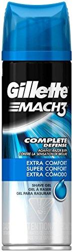 Gillette MACH 3 Extra Comfort Shave Gel Prep - 7 oz by Gillette