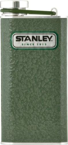 Stanley 8-Ounce Classic Flask (Hammertone Green), Outdoor Stuffs