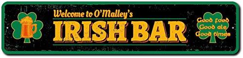 Irish Bar Custom Sign, Irish Bar Sign, Shamrock Bar Decor, Beer Mug Sign, Irish Family Bar Sign, Irish Bar Gift -Quality Aluminum - 4