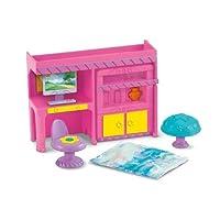 Dormitorio de casa de muñecas Dora la exploradora Fisher-Price