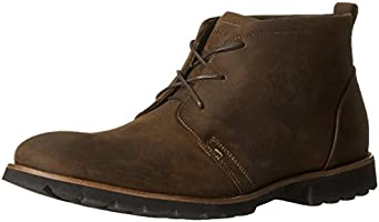 Rockport Men's Charson Lace-Up Boot,Dark Brown Crazy Horse,9 M US