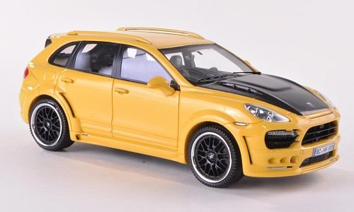 Hamann Guardian, yellow/Carbon, 2011, Model Car, Ready-made, Neo (Hamann Carbon)