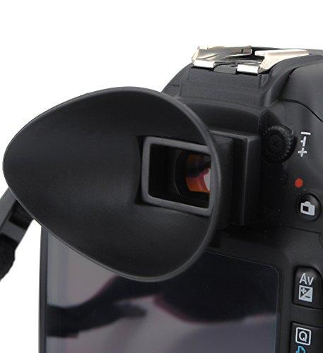 Portaocular EOS 18 mm Visor Compatible para Canon EOS 50D 6D 18 mm 1V 1N T3 18