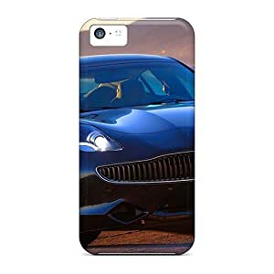 Awesome Fisker Karma 2012 Flip Case With Fashion Design For Iphone 5c