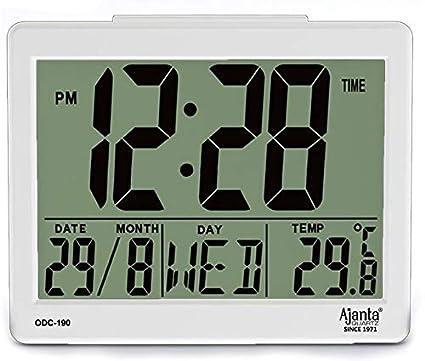 2265470e1c8 Ajanta Plastic Digital Alarm Table Clock (8 cm x 7 cm x 3.5 cm ...