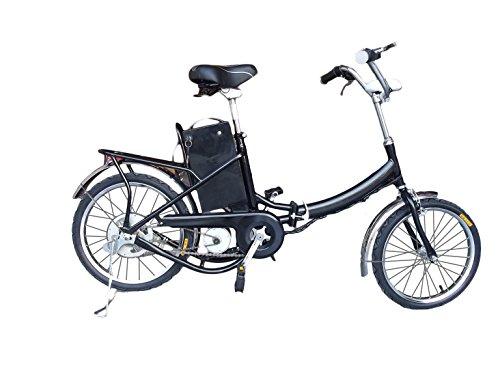 Fitness House Fh 01 250W Bicicletta Elettrica Pieghevole, Nero