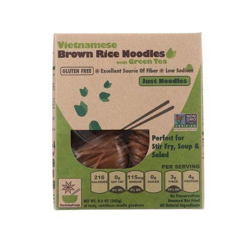 Green Tea Salad (Star Anise Foods Noodles Brown Rice Vietnamese, Organic Green Tea, 8.6 Ounce)