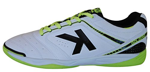 Kelme Men's Futsal Shoes white white rvfXF3iS