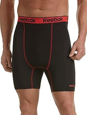 Reebok Big & Tall Performance Boxer Briefs (1XL, Black)