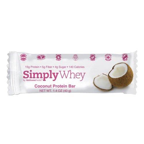 The Simply Bar - Simply Whey Protein Bar Coconut - 1.4 oz.