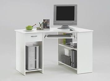 Lifestyle living bureau d angle avec tiroir compartiments