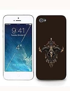 Best Cover Devil Diablo Print for Iphone ipod touch4 Case