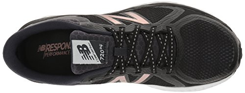 New Balance Damen Running Hallenschuhe Black/Rose Gold