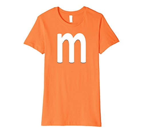 Womens m Candy Easy Halloween Costume Small (Orange M&m Costume)