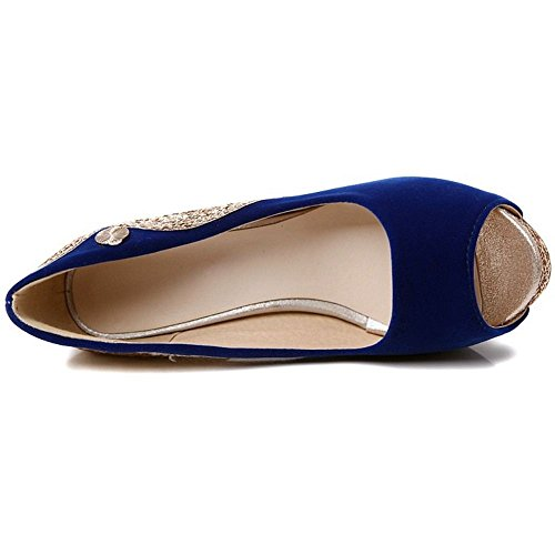 Shoes Court Coolcept Slip On Women Blue HvvwBxzqc4