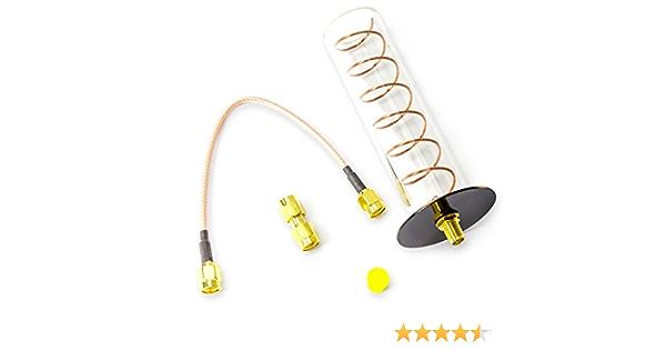 Yagiwlan FPV 5,8 GHz lhcp-001 Receptor Antena wendelantenne Cobre helical Antenna