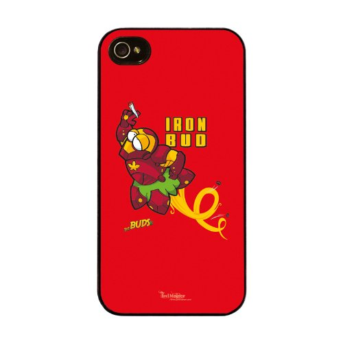Diabloskinz H0026-0066-0059 Iron Bud Schutzhülle für Apple iPhone 4/4S