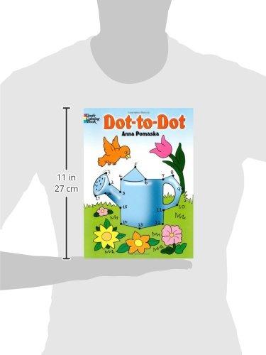 Dot-to-Dot (Dover Children's Activity Books): Anna Pomaska ...