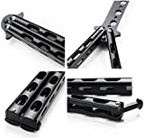 Moon Boat 2PCS Butterfly Knife Trainning Practice