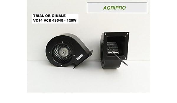 Ventilador centrífugo Trial VC14 W 125 Motor para calderas a Sansa y estufa de pellets: Amazon.es: Industria, empresas y ciencia