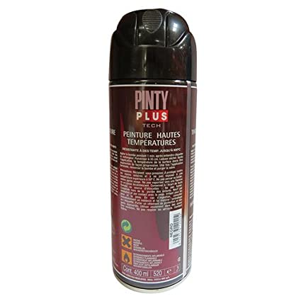 Pintyplus tech M123017 - Pintura spray anticalor 520cc negro