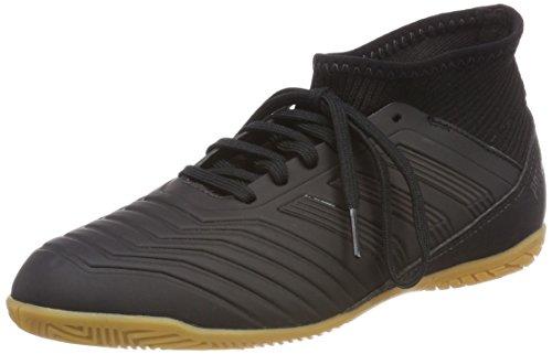 adidas Predator Tango 18.3 in J, Scarpe da Calcio Unisex – Bambini Nero (Cblack/Cblack/Reacor Cblack/Cblack/Reacor)