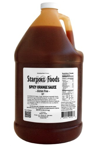 - Spicy Orange Sauce - Gluten Free