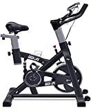IDEER LIFE Exercise Bike Indoor Cycling Stationary Bike for Home Sport Workout,Adjustable Sport Exercise Bike for Home Indoor Cardio,w/Pulse Sensor&LCD Monitor,Max Capacity:330lb
