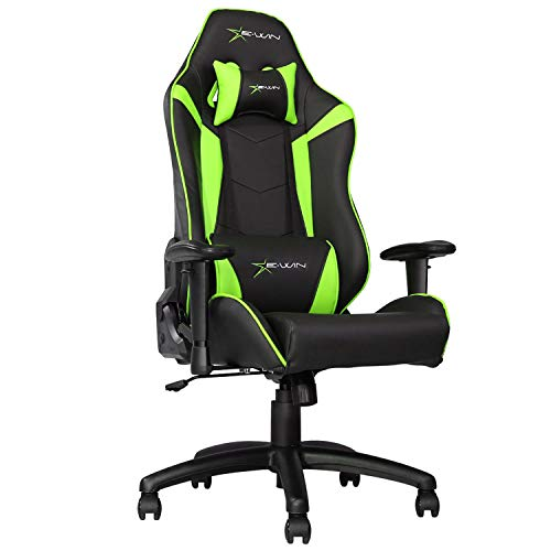 E-WIN Gaming Chair Ergonomic High Back Racing Style with Adj