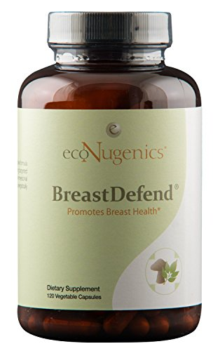 ecoNugenics – BreastDefend - 120 Capsules | Integrative Formula Supports Optimal Breast Health | Supports Healthy Hormone Balance & Immune System Function