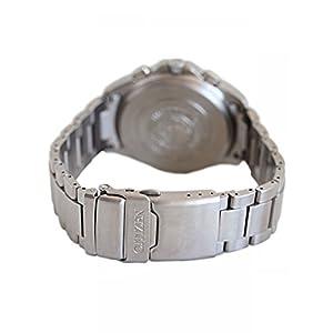 Citizen AS4030-59E - Reloj cronógrafo de Cuarzo para Hombre, Correa de Titanio Multicolor 2