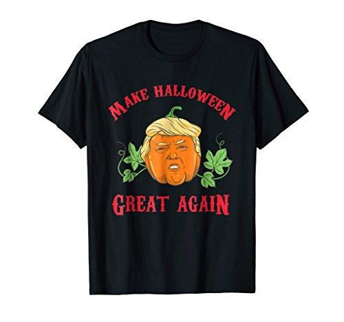 Trumpkin Pumpkin - Make Halloween Great Again Fun T-Shirt -