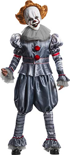Pennywise Clown Costume Sale (Rubie's Men's IT Movie Chapter 2 Pennywise Grand Heritage Costume, X-Large, As)
