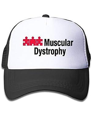 Muscular Dystrophy On Kids Trucker Hat, Youth Toddler Mesh Hats Baseball Cap