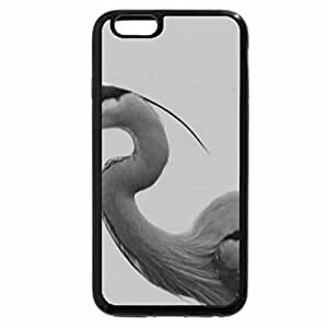 iPhone 6S Case, iPhone 6 Case (Black & White) - Lunch is Served