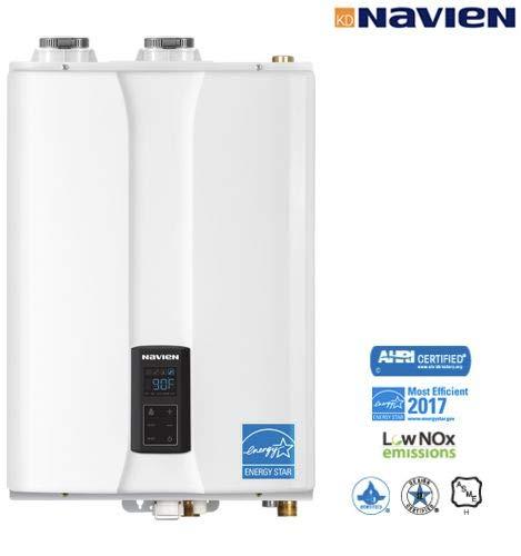 Navien NHB-80-80,000 BTU/H Indoor Wall-Hung Condensing Heating Boiler
