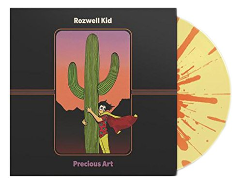 ROZWELL KID - Precious Art Exclusive Easter Yellow & Pink Splatter Vinyl Includes Limited Embroidered Patch