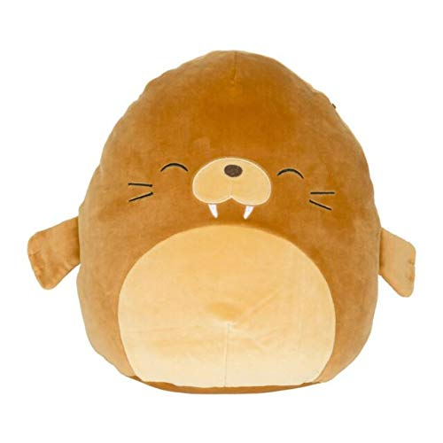 Squishmallow Kellytoy Sea Life 16'' Bruce The Walrus/Sea Lion- Super Soft Plush Toy Pillow Pet Animal Pillow Pal Buddy Stuffed Animal Birthday Gift Holiday Easter Spring