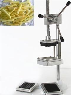 Cortador de patatas a mano, para hacer patatas fritas, de acero inoxidable