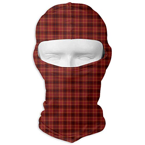 - VvwSaWUgQL Tartan Plaid Red Christmas Ski Mask Neck Scarf Sunscreen Hats Sun UV Protection Dust Protection Wind-Resistant Face Mask for Running Cycling Fishing