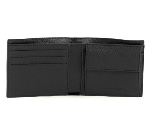 LACOSTE Rafael Large Billfold & Coin Black