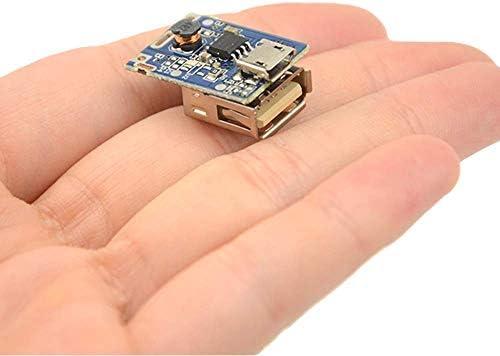 Modulo 10PCS Boost Step Up Power Supply 5V 1A Batteria al litio USB Scheda di protezione della ricarica 134N3P Display a LED per caricabatterie fai da te