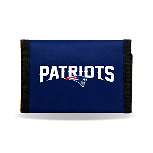New England Patriots Nylon - Rico Wallet New Tri Fold England Patriots