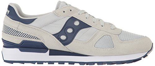 Originali Di Saucony Mens Shadow Original Grey / Navy