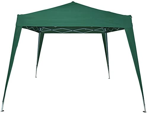 Miadomodo grtpv03/2-Green campaña para jardín Pavilion 3 x 3 m ...