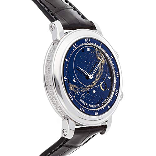 Patek Philippe Grand Complications Mechanical (Automatic) Blue Dial Mens Watch 5102G-001 (Certified Pre-Owned)