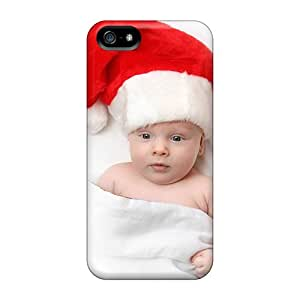 Defender Cases With Nice Appearance (cute Christmas Baby) For Iphone 5/5s
