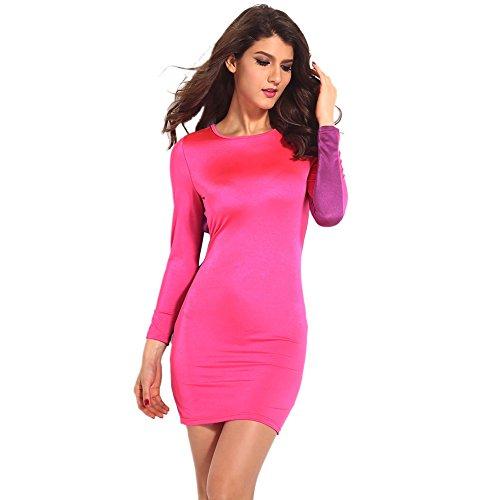 Pinkyee - Vestido - para mujer Chic Pink